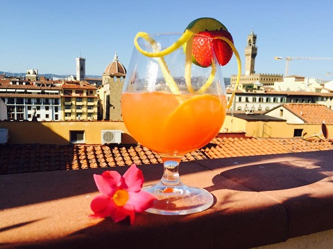 Cocktail con vista